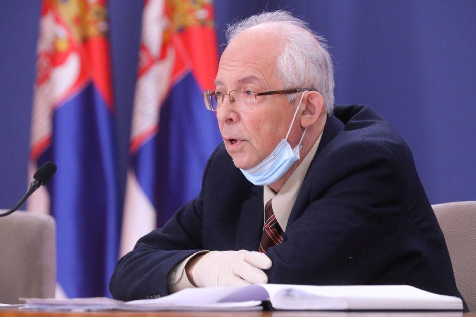 Kon se izvinio profesoru Radovanoviću, ali ostao pri vanrednom stanju