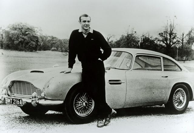 Konerijev Džejms Bond je nezamisliv bez čuvenog britanskog automobila