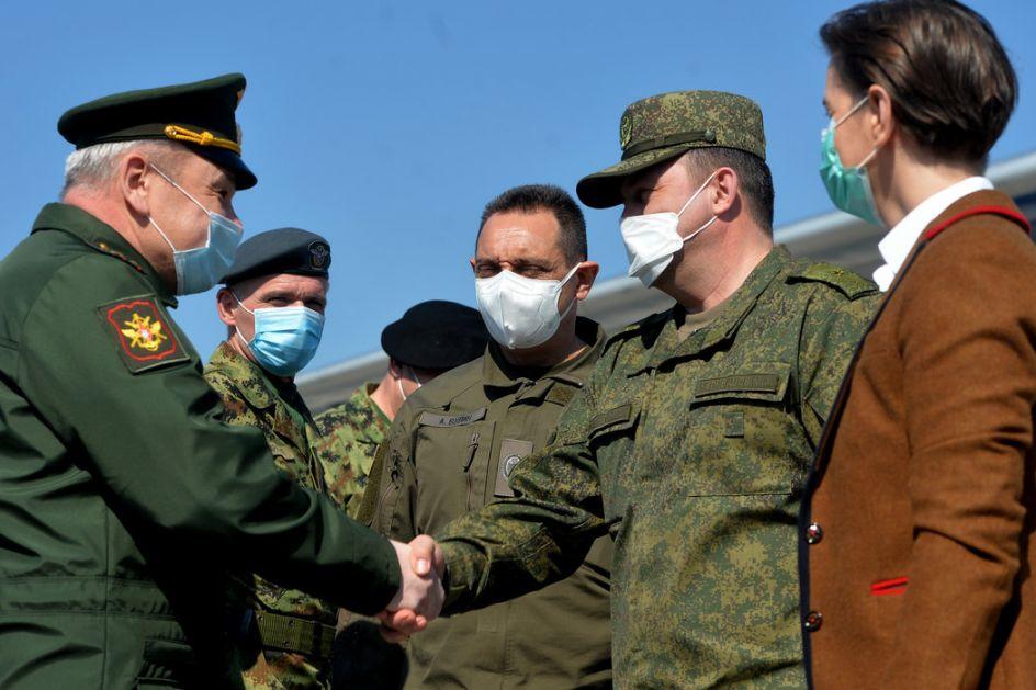 Konsultacije vojnog vrha Srbije sa Černišovim o angažovanju timova iz Rusije protiv Kovida-19