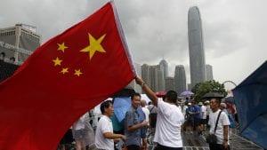 Kontramiting podrške policiji u Hongkongu