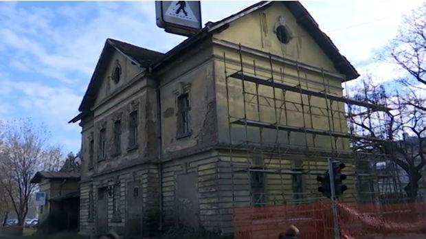 Restauracija stare zgrade valjevske železničke stanice