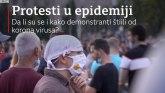 Korona virus i protest: Da li su se i kako demonstranti štitili od virusa