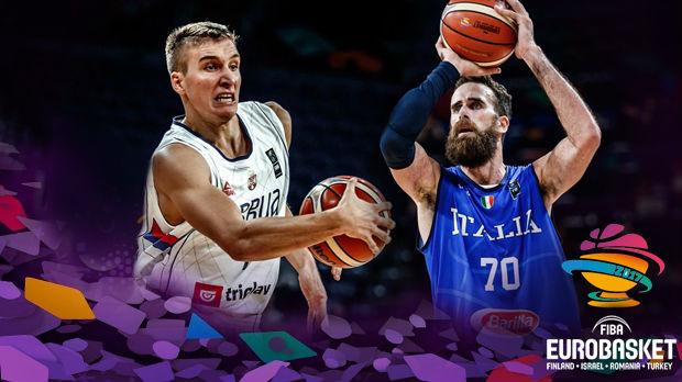 Košarka: Srbija - Italija