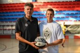 Košarkaš Uniksa na letnjem kampu Partizana