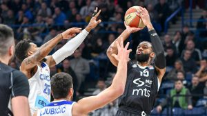 Košarkaši Partizana ubedljivo pobedili Cibonu