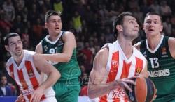 Košarkaši Zvezde izgubili od Efesa
