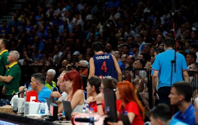 Košarkaši bez Teodosića lete u Kinu