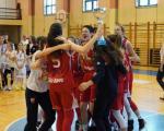 Košarkašice  Crvene zvezde  pobednice Turnira za pionirke Srbije u Nišu
