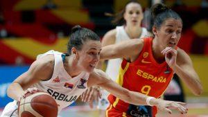 Košarkašice Srbije posle produžetka u polufinalu EP