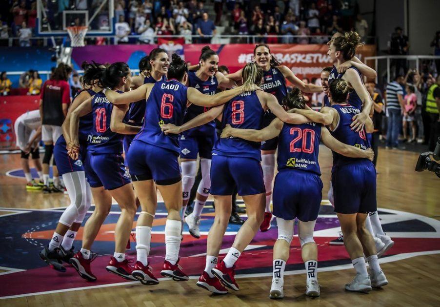 Košarkašice Srbije protiv Turske, Litvanije i Albanije za EP