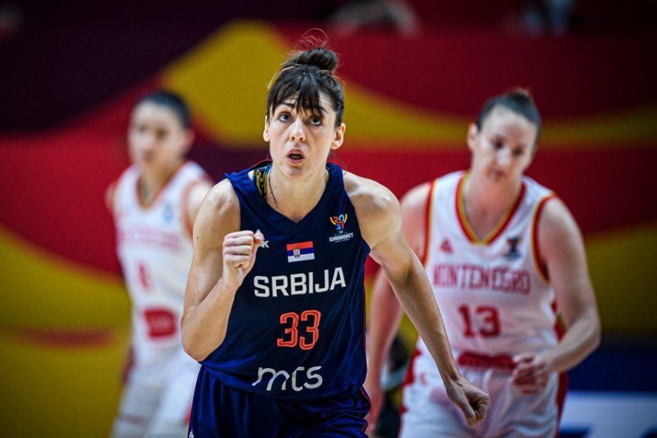Košarkašice Srbije u četvrtfinalu EP