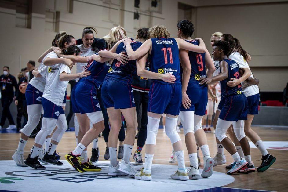 Košarkašice Srbije u grupi sa Italijom, Grčkom i Crnom Gorom na EP