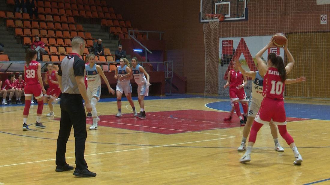 Košarkašice Zvezde ubedljivo savladale Vrbas