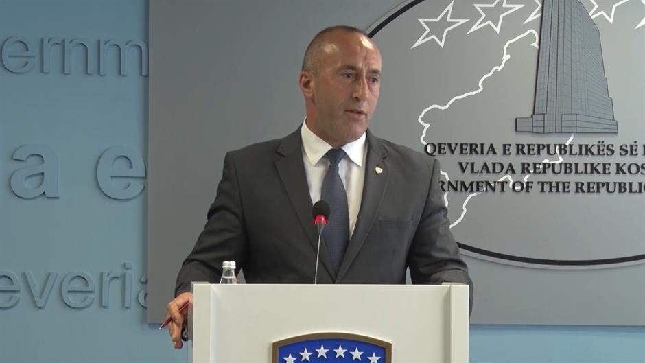 Kosovo government forms team, limits president's powers