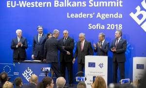 Kosovo u Deklaraciji usvojenoj u Sofiji sa fusnotom