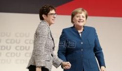 Kramp-Karenbauer izabrana za liderku CDU-a (VIDEO)