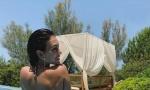Kristijanovu Georginu su RAZAPELI na društvenim mrežama: Zašto ne nosiš donji veš kad se igraš sa decom u bazenu? (FOTO)