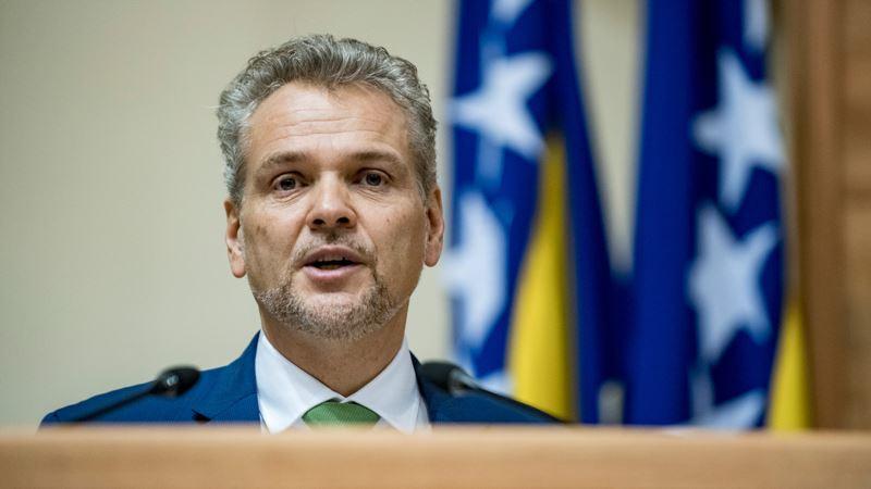 Kritike EU ambasadora Sattlera na račun Visokog sudskog i tužilačkog vijeća BiH