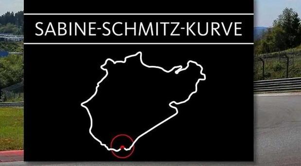 Krivina na stazi Nirburgring dobila ime po legendarnoj Sabine Schmitz