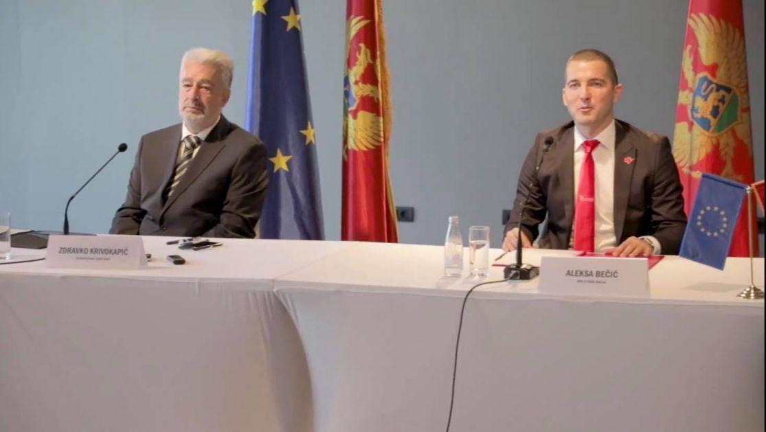 Krivokapić: Razgovori o formiranju nove Vlade Crne Gore idu planiranom dinamikom