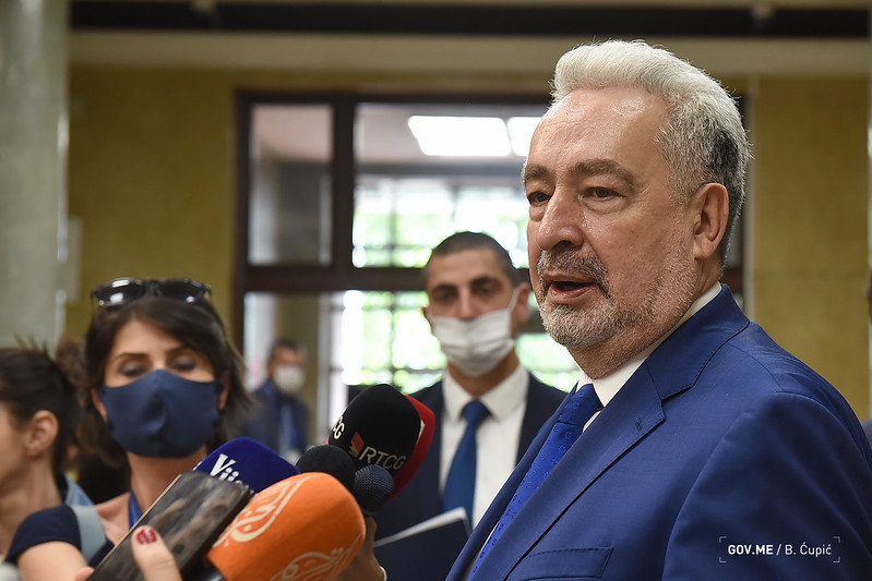 Krivokapić: Usvojena Rezolucija o Srebrenici nepotrebna