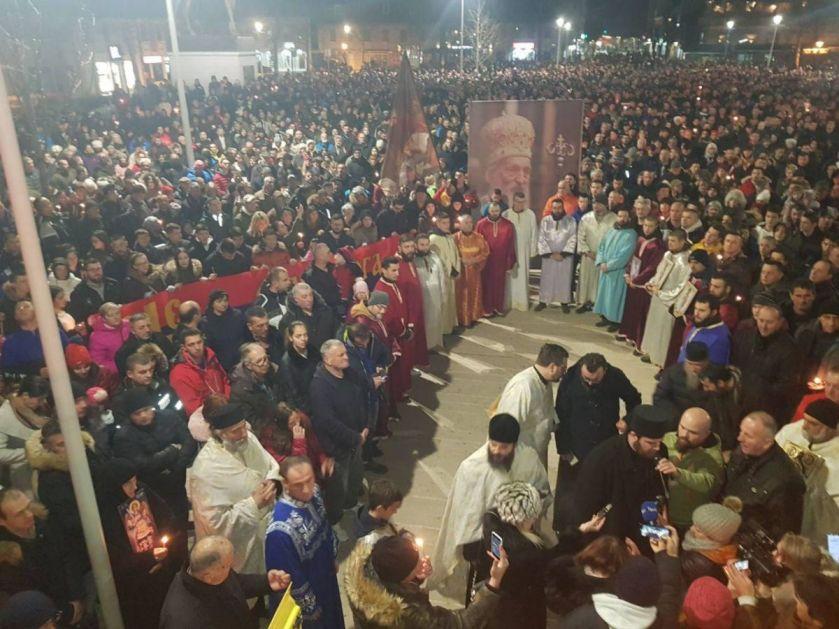 Krstovdanska litija u Nikšiću – hiljade vernika u molitvenom hodu