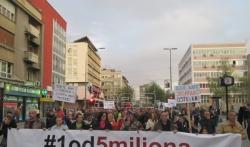 Kruševljani sa protesta poručili Vučiću da misle drugačije od njega