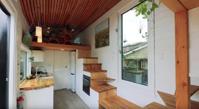 Kućica od 20 kvadrata dizajnirana je za zdrav život i zaljubićete se u nju! (VIDEO)