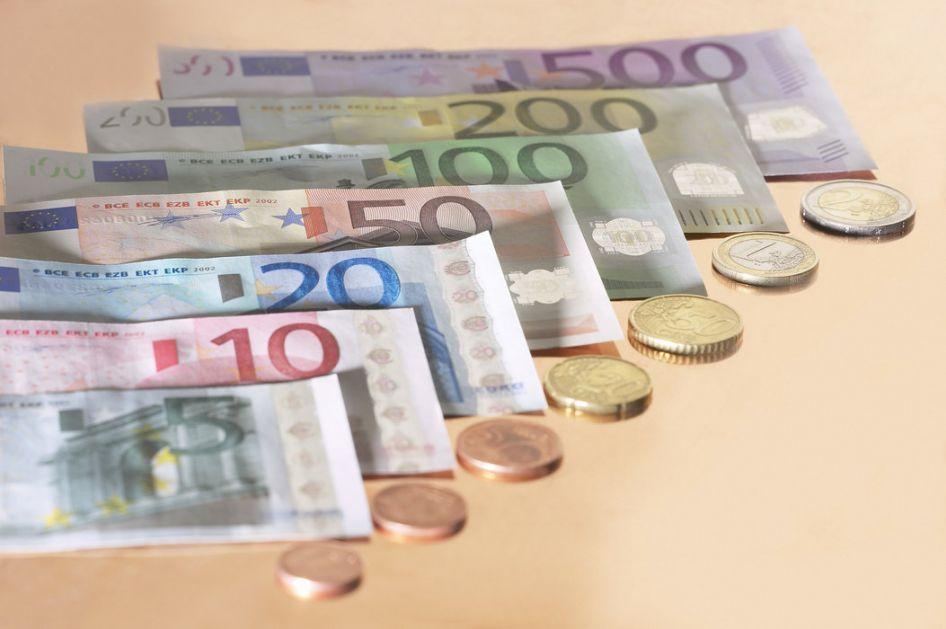 Kurs dinara 117,5848 za evro