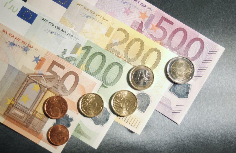 Kurs dinara prema evru danas 117,5666