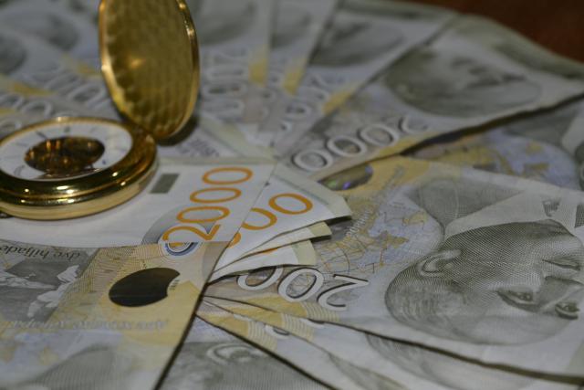 Kurs dinara sutra 117,96 za evro