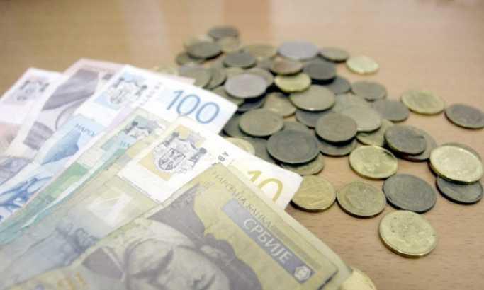 Kurs dinara sutra 117,9693 za evro