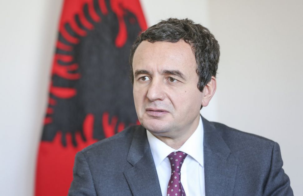 Kurti: Odluka EU da zaustavi proširenje umanjuje šanse Kosova
