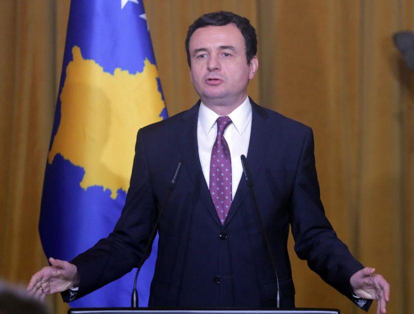 Kurti: Tražićemo saradnju sa opozicijom po pitanju dijaloga, osnovaćemo institut za zločine koje je počinila Srbija