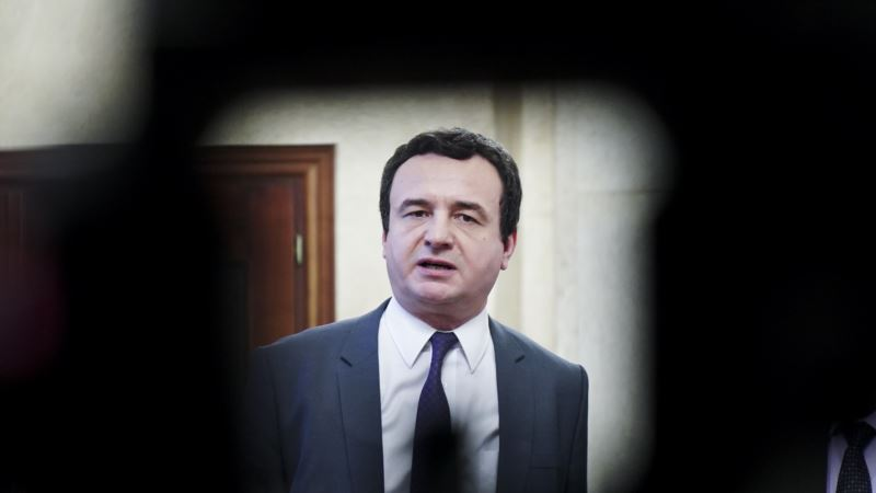 Kurti kritikuje najavljeni sastanak Kosova i Srbije u Vašingtonu