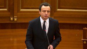 Kurti najavio tužbu protiv Srbije za genocid