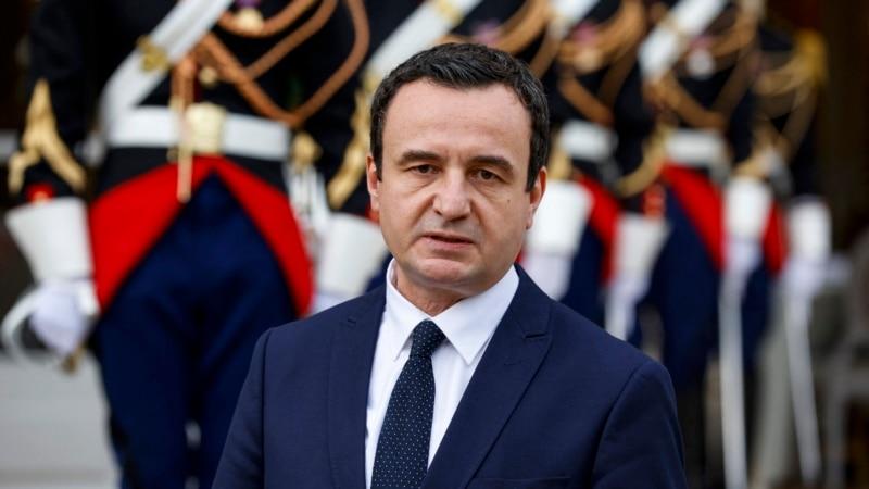 Kurti ponovo kritikovao inicijativu 'Open Balkan'
