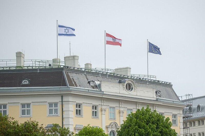 Kurz istaknuo izraelsku zastavu na svom sjedištu u znak podrške tokom sukoba