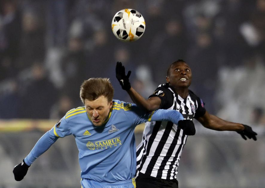 Kvartet stranaca postigao skoro sve golove za Partizan