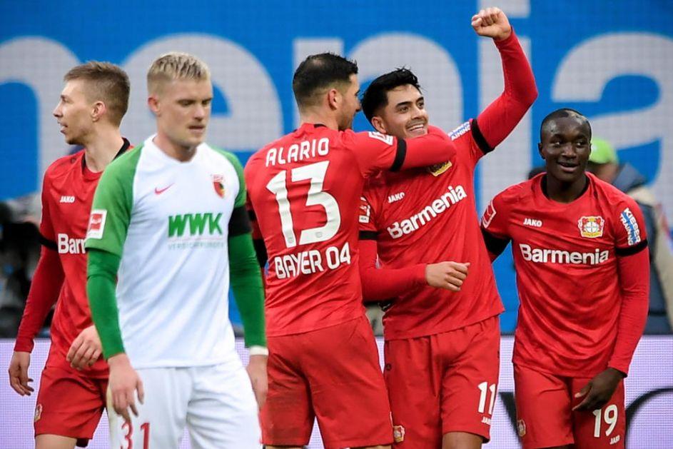 LAKA POBEDA BAJERA: Domaćin u Leverkuzenu precrtao Augsburg za 5. mesto na tabeli