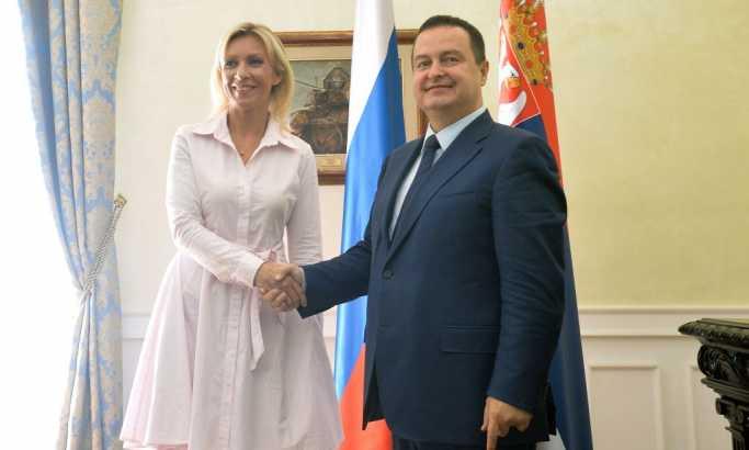 LDP: Dačić iskoristio privatnu posetu Zaharove