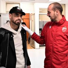 LE TALEK STIGAO U BEOGRAD: Zvezda je njegov klub - iznenađenje na utakmici protiv Rada