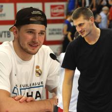 LEBRON I DURENT BIRALI OL STAR EKIPE: Džoker Jokić i Luka Medžik zajedno u timu