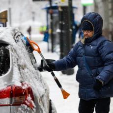 LEDENI TALAS OKOVAO SRBIJU: Pravi zimski dan pred nama - temperature u MINUSU