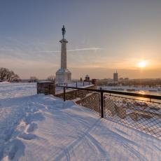 LEPO JANUARSKO VREME PRED NAMA: Danas oblačno ali suvo, nagli porast temperature (FOTO)