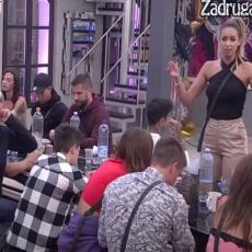LETELO PERJE! Suočile se sadašnja i bivša Karićeva devojka: Haos za stolom, pljušte uvrede! (VIDEO)