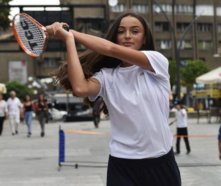 LETNJE DRŽAVNO PRVENSTVO: Teniserka Fatma Idrizović državna prvakinja u konkurenciji do 16 godina