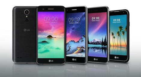 LG najavio čak pet novih telefona