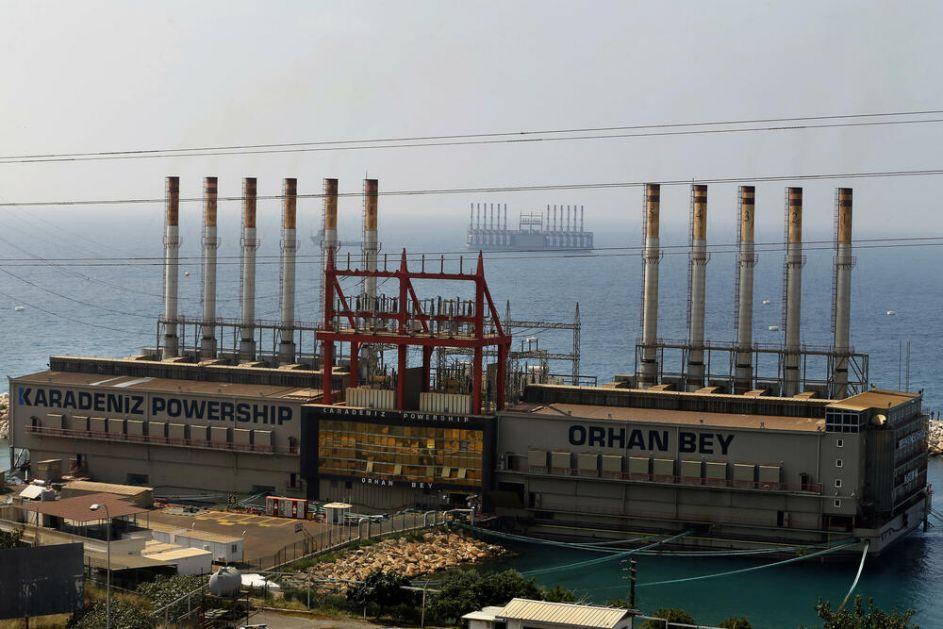 LIBANU PRETI POTPUNI MRAK: Turska firma koja ih sa plutajućih elektrana snabdeva strujom najavila isključenje! Evo zašto!