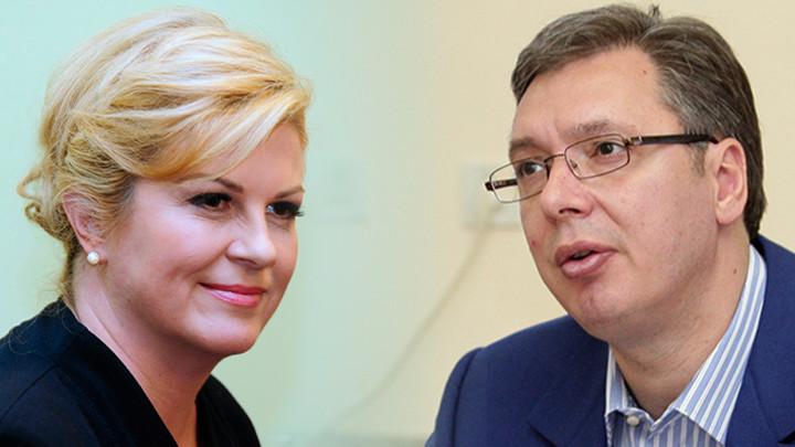 LICEMERNI PROTESTI ZAGREBA! Hrvati napadaju Vučića jer govori o Jasenovcu